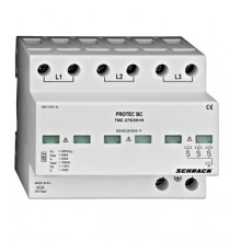 Kompletný zvodič PROTECT T1+2/B+C TNC, 3p, 25kA, 275V