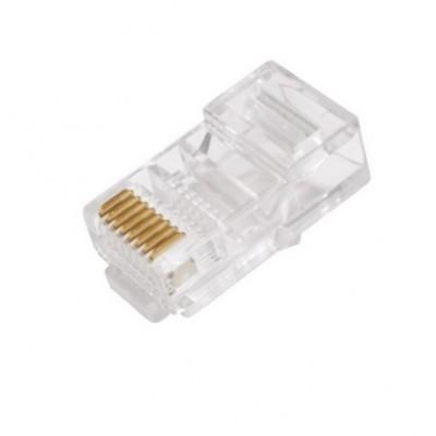 Konektor RJ45 netienený pre UTP kábel