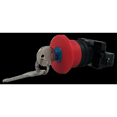 Núdzové tlačidlo s kľúčom NG22-ES142