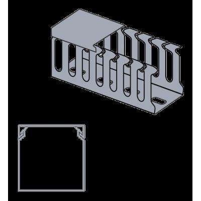 Žľab perforovaný VxŠ 60x60mm 2m
