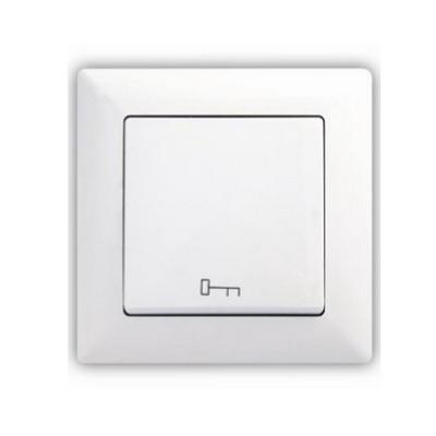 Tlačidlo dvere Visage Simple biela