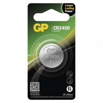 Batéria GP CR2450 gombíková 3V