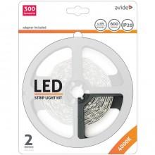 LED pás AVIDE blister 12V 4,8W NW 2M