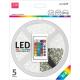 LED pás AVIDE blister+ovládač 12V 7,2W RGB 5M
