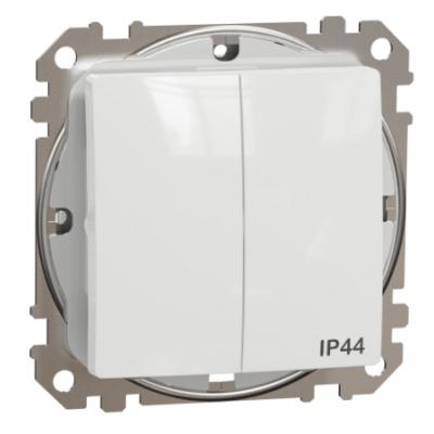 Vypínač č.5 Schneider Electric SEDNA biely IP44 SDD211105