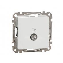 Zásuvka TV koncová Schneider Electric SEDNA biela SDD111471