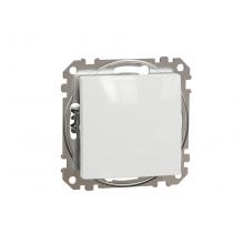Vypínač č.8 tlačidlo Schneider Electric SEDNA biely SDD111111