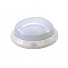 Svietidlo MARINA so senzorom pohybu okrúhle biele