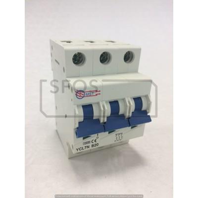 Istič YCL7-3P/B 400V/AC 20A