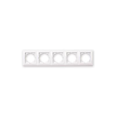 Päťrámik Visage Simple biely