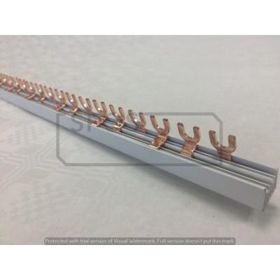 Prepojovacia lišta 1m 63A-3P