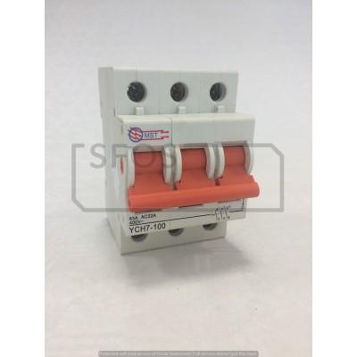 Hlavný vypínač YCH7-3P/400V/63A