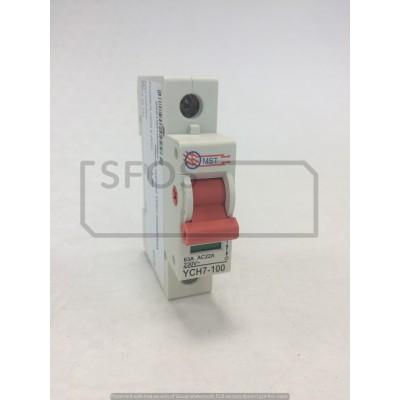 Hlavný vypínač YCH7-1P/230V/63A