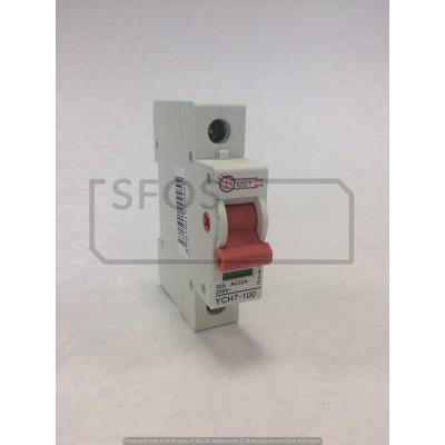 Hlavný vypínač YCH7-1P/230V/32A