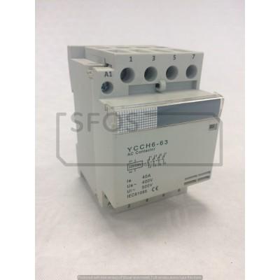 Stykač YCCH6-4xNO/400V/40A