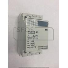 Stykač YCCH6-4xNO/400V/25A