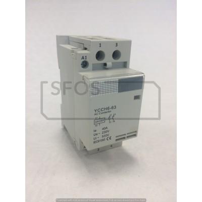 Stykač YCCH6-2xNO/230V/40A