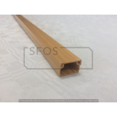 Žľab 18x13 svetlé drevo