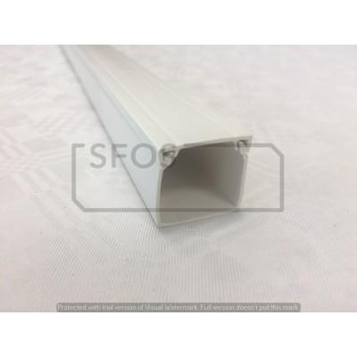 Žľab 24x22 biely