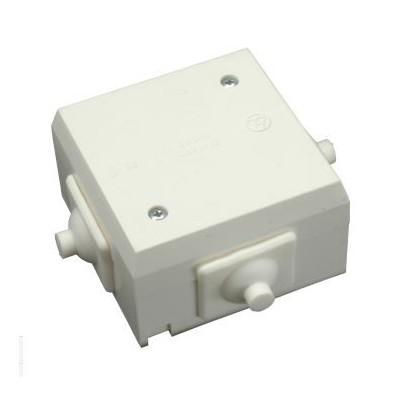 Rozvodná vodotesná krabica na omietku IP44