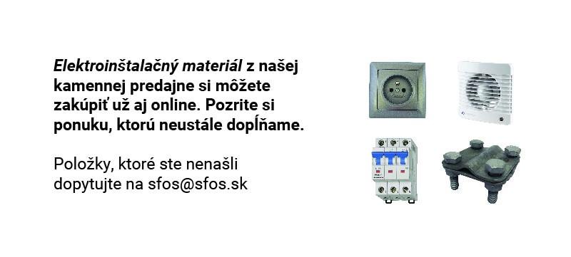 Elektroinštalačný material